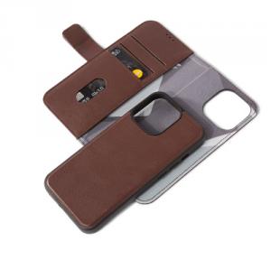 Decoded Detachable Wallet – skórzana obudowa ochronna do iPhone 13 Pro Max (brązowa)