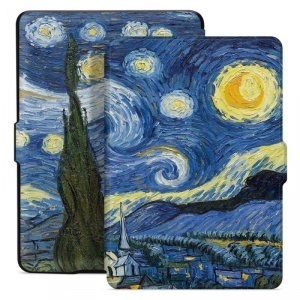 TECH-PROTECT SMARTCASE KINDLE PAPERWHITE IV/4 2018/2019 STARRY NIGHT