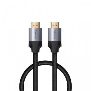 BASEUS 4K HDMI TO HDMI CABLE 50CM DARK GREY