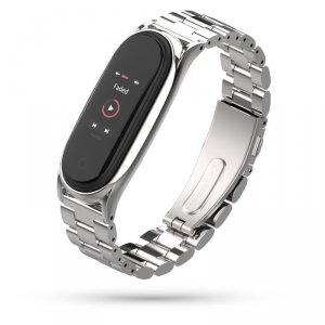 TECH-PROTECT STAINLESS XIAOMI MI SMART BAND 5/6 SILVER