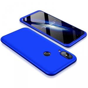 GKK 360 Protection Case etui na całą obudowę przód + tył Huawei P20 Lite niebieski
