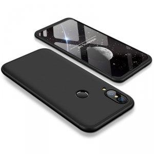 GKK 360 Protection Case etui na całą obudowę przód + tył Huawei P20 Lite czarny
