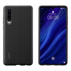 Huawei Protective Case PU etui pokrowiec Huawei P30 czarny (51992992)