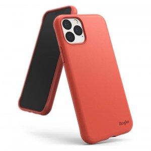 Ringke Air S ultracienkie żelowe etui pokrowiec iPhone 11 Pro Max koralowy (ADAP0019)