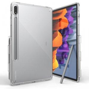 Ringke Fusion etui pokrowiec z żelową ramką Samsung Galaxy Tab S7 11'' przezroczysty (F475R52)