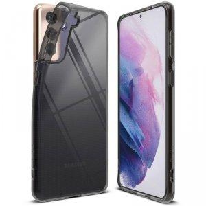 Ringke Air ultracienkie żelowe etui pokrowiec Samsung Galaxy S21 5G czarny (ARSG0040)