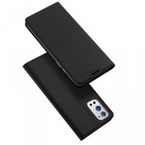 DUX DUCIS Skin Pro kabura etui pokrowiec z klapką OnePlus 9 Pro czarny