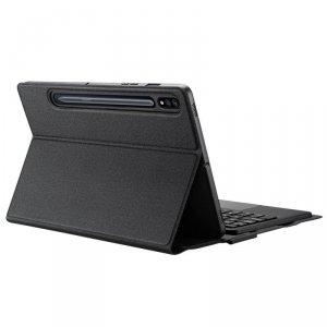 Dux Ducis Touchpad Keyboard Case etui na tablet bezprzewodowa klawiatura Bluetooth Samsung Galaxy Tab S7 11'' czarny