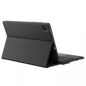 Dux Ducis Touchpad Keyboard Case etui na tablet bezprzewodowa klawiatura Bluetooth Samsung Galaxy Tab S6 Lite czarny