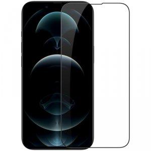 Nillkin CP+PRO ultracienkie szkło hartowane na cały ekran z ramką 0,2 mm 9H iPhone 13 mini czarny