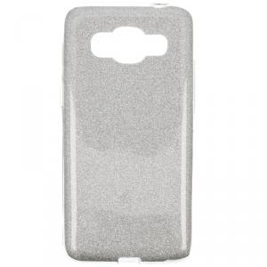 Etui Glitter SAMSUNG G530 srebrne