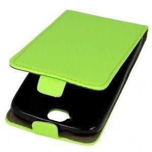 Kabura pionowa rubber HUAWEI HONOR 6X zielony