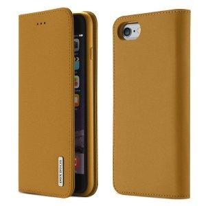Etui portfel Dux Ducis wish leather IPHONE 6+ brązowy