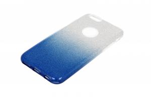 Etui glitter IPHONE 7 niebieskie