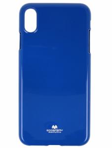 Etui Jelly Mercury IPHONE XS MAX niebieskie