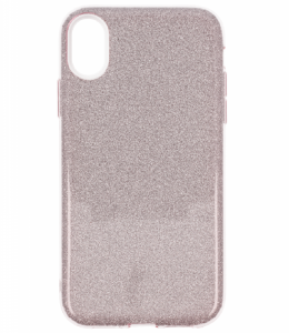 Etui Glitter IPHONE XS MAX różowe