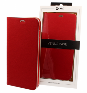 Etui IPHONE 11 PRO  z klapką Nexeri Venus czerwone