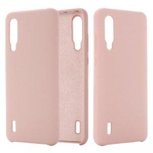 Etui XIAOMI MI 9 LITE Silicone case elastyczne silikonowe różowe