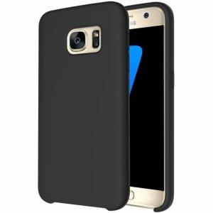Etui SAMSUNG GALAXY S7 Silicone case elastyczne silikonowe czarne