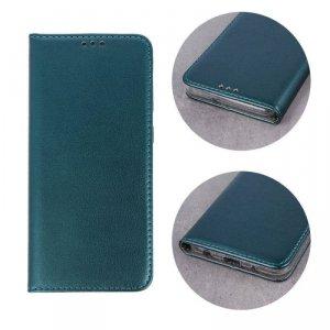 Etui HUAWEI Y5 2018 portfel z klapką skóra ekologiczna Kabura Magnet Book ciemnozielone