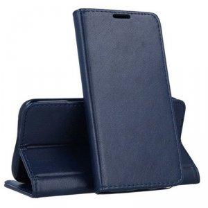 Etui LG K51S / K41S portfel z klapką skóra ekologiczna Kabura Magnet Book granatowe