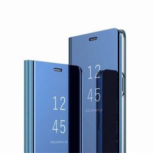 Etui XIAOMI REDMI NOTE 9S / 9 PRO Clear View Cover z klapką niebieskie