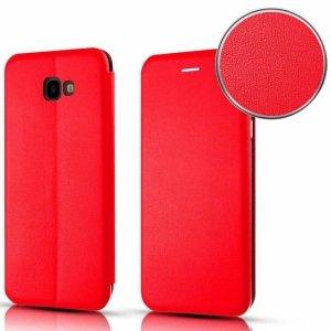 Etui SAMSUNG GALAXY S21 ULTRA portfel z klapką skóra ekologiczna Flip Elegance czerwone