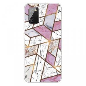 Etui SAMSUNG GALAXY A02S Slim Case Art Clear TPU Marble Pattern Styl Q