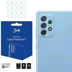 Szkło Hybrydowe na Aparat / Obiektyw SAMSUNG GALAXY A52 / A52 5G 3mk Flexible Glass Lens