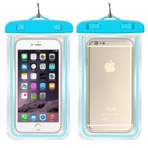 Etui Wodoodporne 7 Nieprzemakająca Saszetka na Telefon Komórkowy / Smartfon WC04 czarne