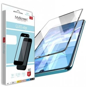 Szkło Hartowane 5D SAMSUNG GALAXY A22 5G MyScreen Lite Edge Full Glue czarne