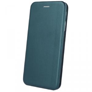Etui XIAOMI REDMI 9T portfel z klapką skóra ekologiczna Flip Elegance ciemnozielone
