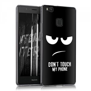 Dont Touch My Phone Etui Case Plecki Hard Cover -Huawei P9 Lite
