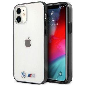 Etui BMW BMHCP12SMBTOK iPhone 12 mini 5,4 transparent hardcase Sandblast