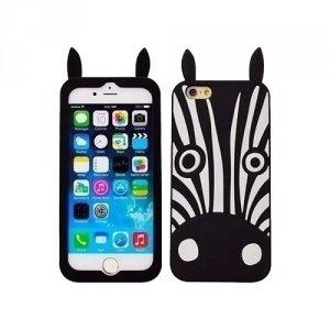 Silikon 3D Sam A5 A500 Zebra czarny