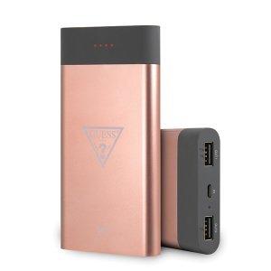 Guess Powerbank indukcyjny GUL24WPB8TLRG 8000mAh różowy/pink