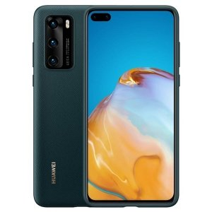 Huawei PU Case P40 zielony /green 51993711