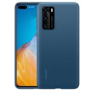Huawei Silicone Case P40 niebieski /blue 51993721