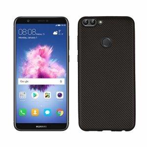 Etui Carbon Fiber Huawei P Smart czarny /black