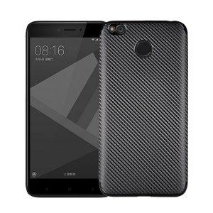 Etui Carbon Fiber Xiaomi Redmi 4X czarny /black