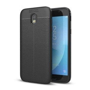 Etui Grain Leather Samsung J5 J530 2017 czarny/black