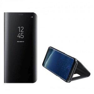 Etui Clear View Samsung M12 M127 czarny/black