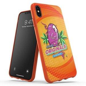 Adidas Moulded Case BODEGA iPhone Xs Max pomarańczowy/orange 34954