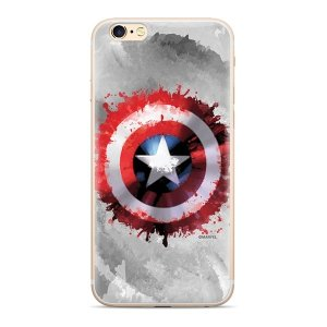 Etui Marvel™ Kapitan Ameryka 019 Huawei P Smart szary/grey MPCCAPAM6901