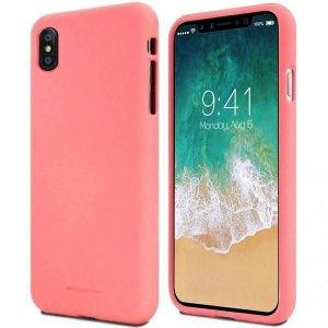 Mercury Soft Samsung A02s A025 różowy /pink