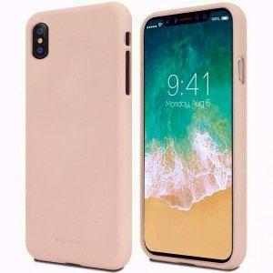 Mercury Soft Samsung A52 5G A526 różowo-piaskowy/pink sand