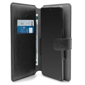 PURO Wallet 360° XXL etui uniwersalne czarne/black obrotowe z kieszeniami na karty UNIWALLET4BLKXXL