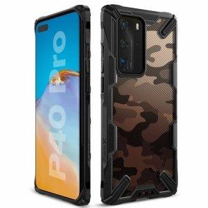 Ringke Fusion X Huawei P40 Pro czarny /como black