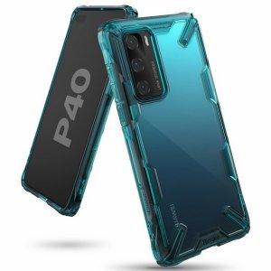 Ringke Fusion X Huawei P40 turkusowy /turquoise green