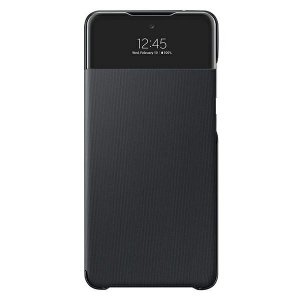 Etui Samsung EF-EA725PB A72 A725 czarny /black S View Wallet Cover